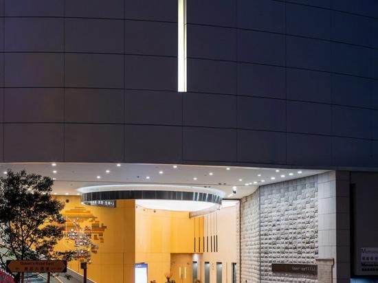Rocco Design Architects crea una iglesia en un rascacielos en Hong Kong