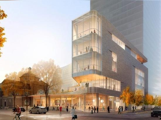 snøhetta y clark nexsen presentan la nueva biblioteca'tecnológicamente avanzada' para charlotte, EE.UU