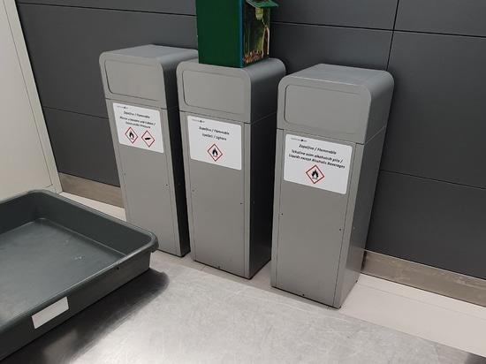 El aeropuerto de Split en Croacia instala la papelera selectiva Estocolmo
