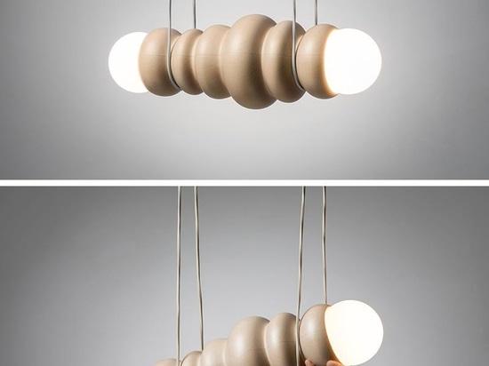 Bulbous es una versión moderna del diseño de madera torneada