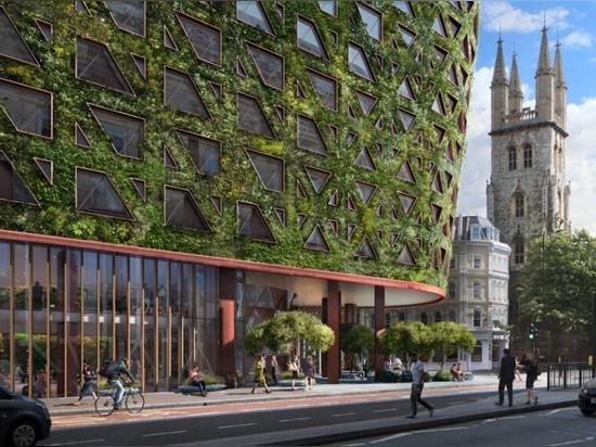 El muro verde más grande de Europa absorberá 8 toneladas de contaminación atmosférica al año