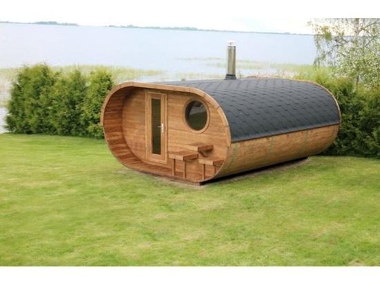 Estas saunas de bricolaje son justo lo que necesitas para mantenerte caliente y tostado este invierno