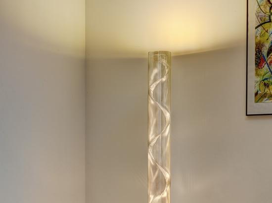 Columna en espiral