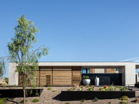 Cayambe: Una casa unifamiliar mínima en el desierto de Las Vegas