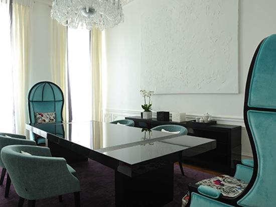 Apartamento Art Chic en París diseñado por PFB Design y amueblado por BRABBU