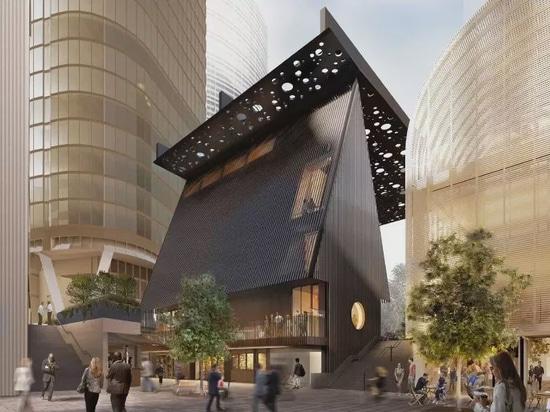 David Adjaye y Daniel Boyd colaboran en una plaza pública y un edificio en Sydney