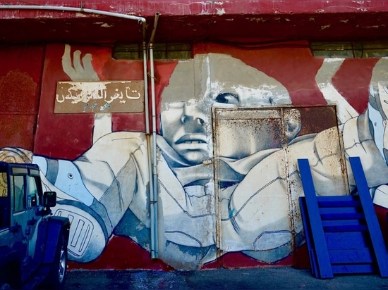 Ouzville, Beirut: El arte como catalizador de un cambio positivo