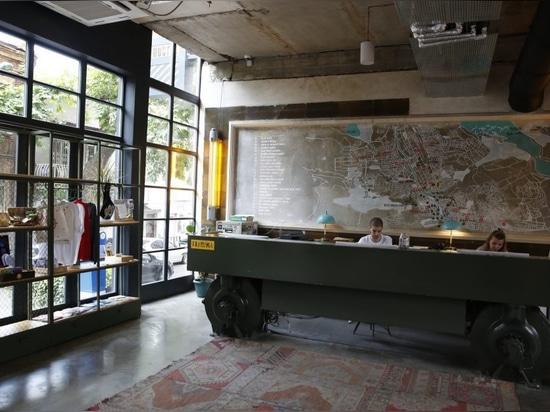 Fabrika Tbilisi, una ex fábrica soviética convertida en centro de cultura urbana