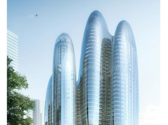 El diseño oblongo de Zaha Hadid Architects para la sede de la OPPO en Shenzhen