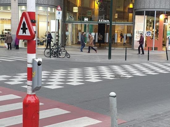 Bruselas instala ceniceros de Cervic Environment en el centro histórico de su ciudad