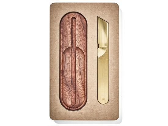 El cuchillo de trabajo con soporte de Grovemade es una funcionalidad elegante
