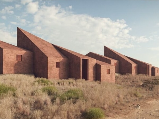 Marc Thorpe diseña edificios de vivienda y trabajo construidos con ladrillos de tierra