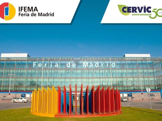 300 papeleras donadas al hospital de IFEMA por Cervic Environment