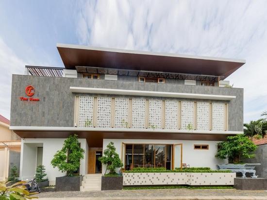 Diseño creativo de la fachada