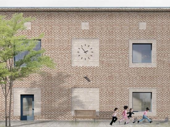 Preescolar Lärkgatan de Kjellgren Kaminsky Architectureu
