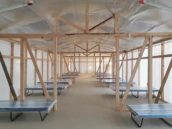 WTA diseña 60 instalaciones de cuarentena de emergencia para luchar contra COVID-19