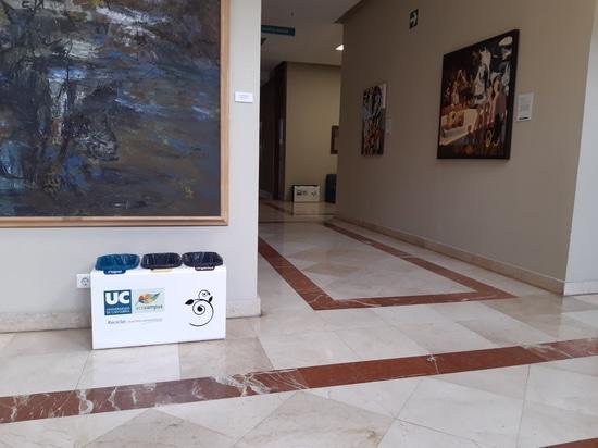 La Universidad de Cantabria también recicla con Cervic Environment