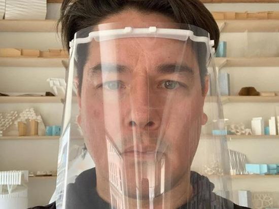 El Grupo Bjarke Ingels y más arquitectos imprimen escudos faciales en 3D para el personal médico del coronavirus
