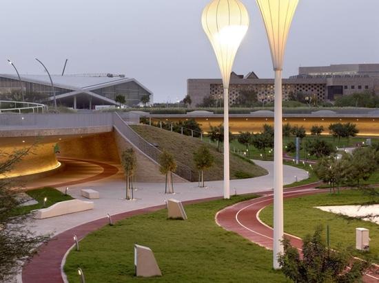 El Parque de Oxígeno de Qatar es el antídoto perfecto para el calor del desierto