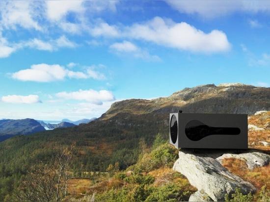Prefab Birdbox es el refugio perfecto para los amantes de la naturaleza