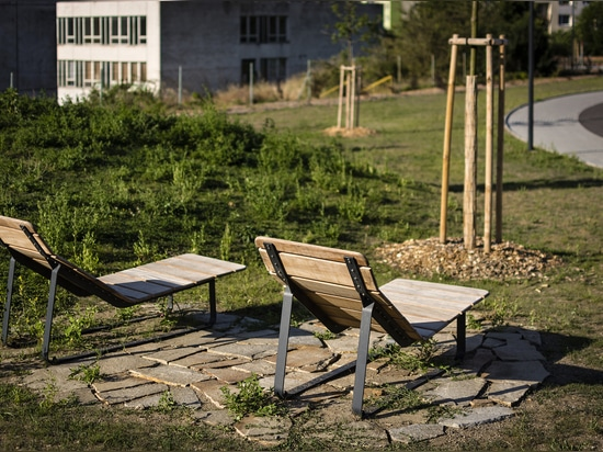 Třebíč - patio de recreo multifuncional
