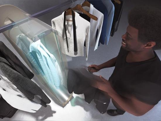 Pura-Case de Carlo Ratti utiliza el ozono para purificar la ropa