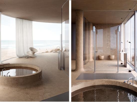 Diseño de concepto: Hotel en la playa de Sivak+Partners