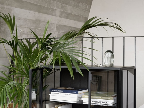 El ático de la oficina del DMOA proporciona una inspiración infinita para los pequeños apartamentos