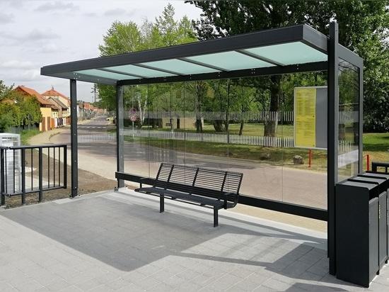 Neratovice - Nueva parada de transporte público