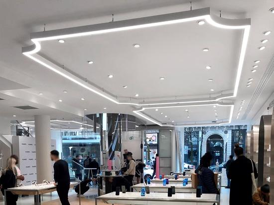 Tienda insignia de Huawei Ópera de París