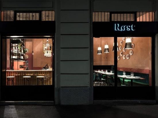 El restaurante Røst en Milán