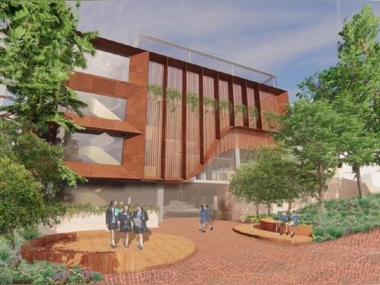 Hayball diseña un nuevo centro deportivo y científico para la escuela del norte de Sydney