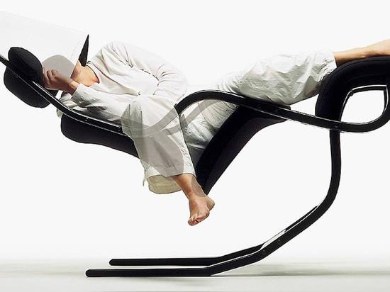 Trabaja sin peso con la silla de gravedad cero Balans