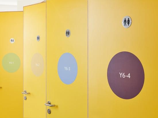 UNIT Fabrications construye muebles de distanciamiento social para la escuela primaria de Londres