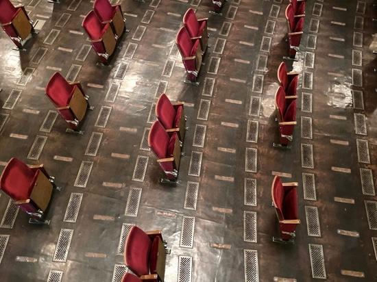 El Berliner Ensemble da un vistazo a su teatro socialmente distante