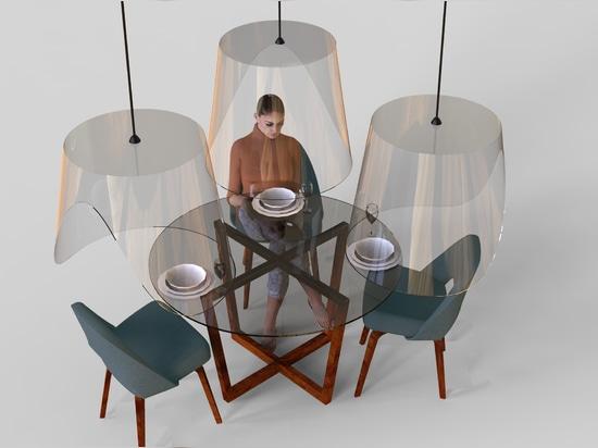 Christophe Gernigon propone la suspensión de las campanas de Plex'eat para la cena post-virus en los restaurantes
