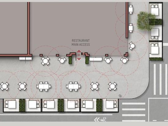 David Rockwell presenta un kit para construir restaurantes en las calles después de la pandemia
