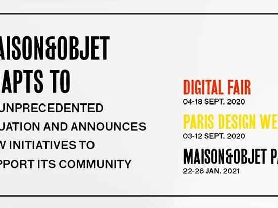 Maison&Objet organizará una feria digital en septiembre en lugar de su edición de otoño de 2020
