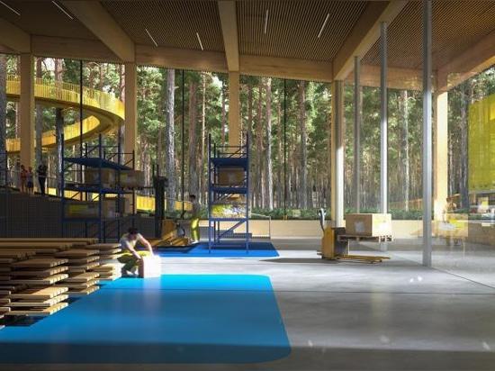 """BIG diseña """"la fábrica de muebles más sostenible del mundo"""" en Noruega"""