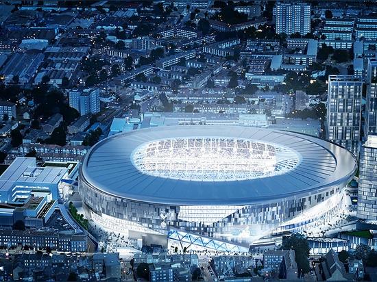 El balompié de observación es alrededor llegar a ser más intenso y íntimo que siempre antes. Populoso firme de la arquitectura ha revelado su diseño actualizado para el nuevo estadio de fútbol de T...