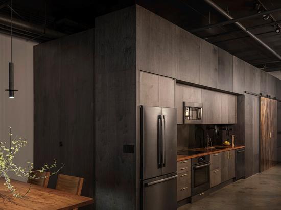 Western Studio. Cortesía de la firma de arquitectura estadounidense GoCstudio.