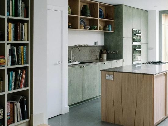 El proyecto de cocina de Southgrove Road. Cortesía de From Works.