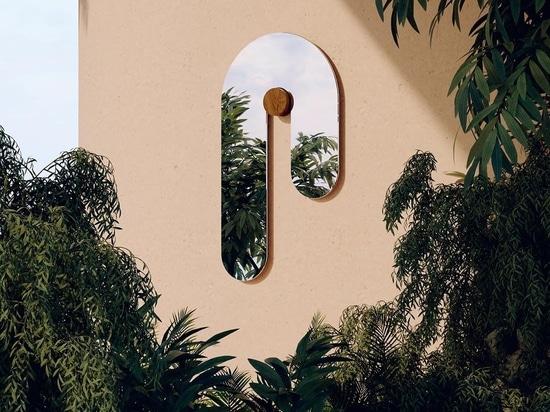 Los espejos y los muebles parecen derretirse en la última colección de los estudios Bower