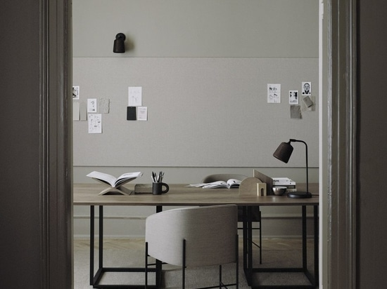 Mesa de comedor Florence, silla rectangular y Covent.