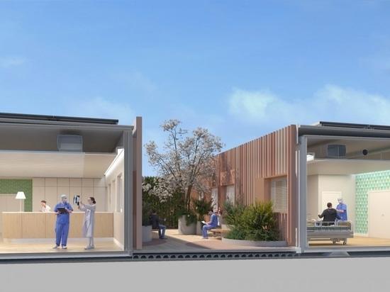 El efecto pandémico: COVID-19 remodela el futuro del diseño de hospitales