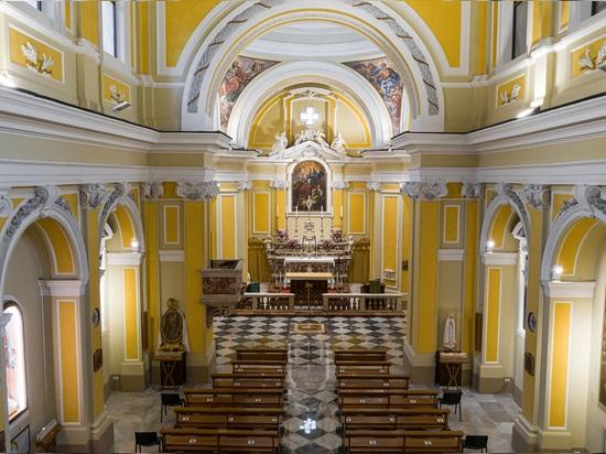 Iglesia S. Giovanni Battista en Vietri