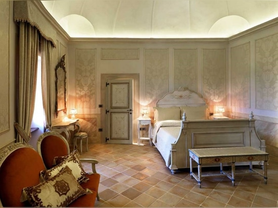 Elegante suelo de terracota para espacios interiores