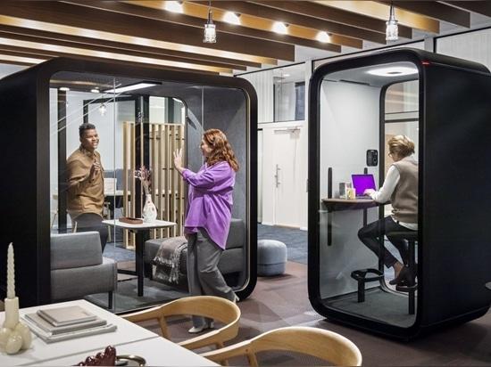 Framery lanza la primera cabina acústica totalmente conectada del mercado