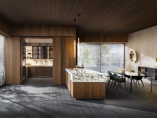 Colección de cocina y comedor Ratio de Molteni, diseñada por Vincent Van Duysen.