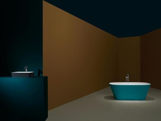 Tres nuevas paletas de colores para el baño diseñadas para la vida en el encierro